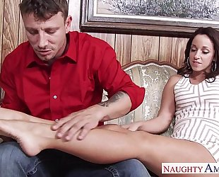 Busty rich chick jada stevens acquires nailed
