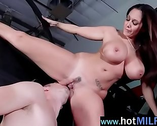 Plump Big boobs Milf
