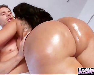 (kiara mia) big arse non-professional amateur wife receive oiled and anal on camera mov-16