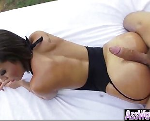 (kelsi monroe) oiled BBC whore with big wazoo fucked analy video-16