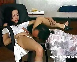 Christy fucked in office