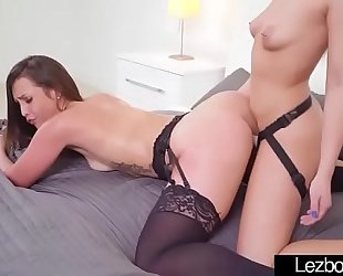 (kelsi monroe & khloe kapri) lesbian babes gals make enjoyable sex vid-17