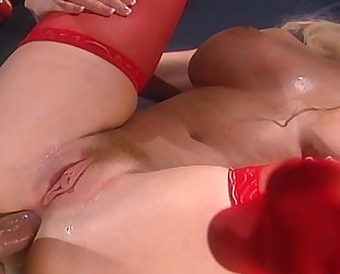 Sex in Red Stockings