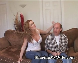 Redheaded Vixen Begs For Pussy Attention