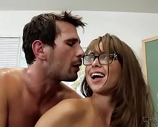 Busty teacher riley reid gets fucked in classroom -mobilecams.cf
