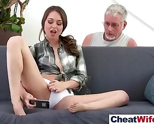 Hot hot lascivious white white bitch (riley reid) like cheating sex on tape vid-23
