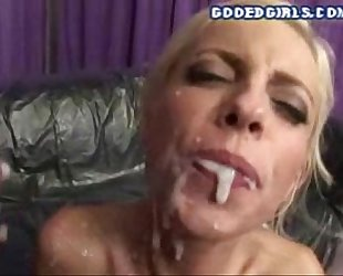 Gangbang And Cum Bath