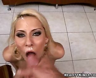 Huge Facial For Madison Ivy!