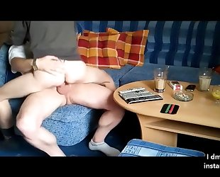 Anal-loving girlfriend gets rewarded with a nice fuck